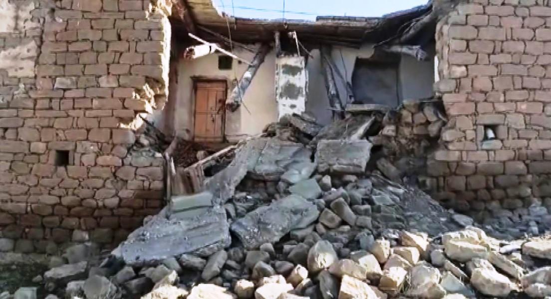 Siirt Depreminde Yıkılan Binalar