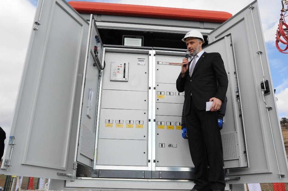 Simav Belediyesi'nin 'Güneş Enerji Santrali' üretime başladı