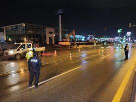 Sincan'da Polis Ekipleri Denetim Mesaisinde