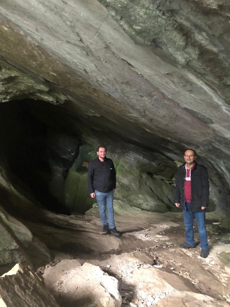 Sintenist'in kaldığı mağara turizme açılacak