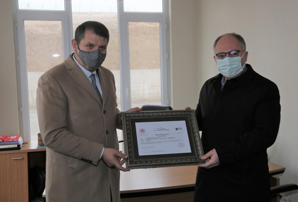 Sivas Belediyesi, sıfır atık belgesi almaya hak kazandı