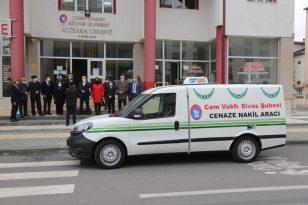 Sivas Belediyesinden Cem Vakfına Cenaze Nakil Aracı
