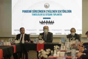 Sivas'ta Esnafa Nakdi Yardım