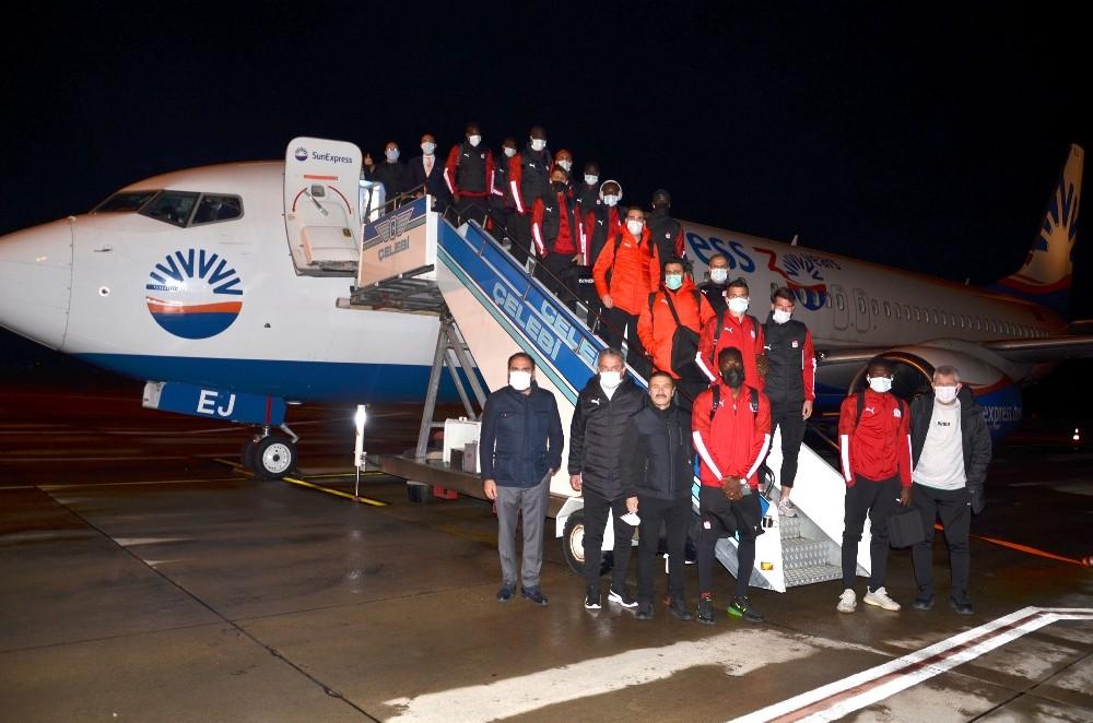 Sivasspor Trabzon'da