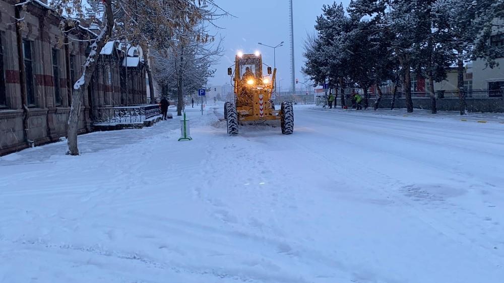 Siz evde kalın Ardahan Belediyesi çalışıyor