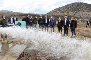 Su sıkıntısı yaşayan Alaşehir'e yeni sondajlarla çözüm