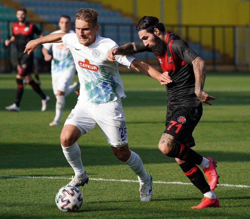 Süper Lig: Fatih Karagümrük: 2 – Çaykur Rizespor: 1 (Maç sonucu)