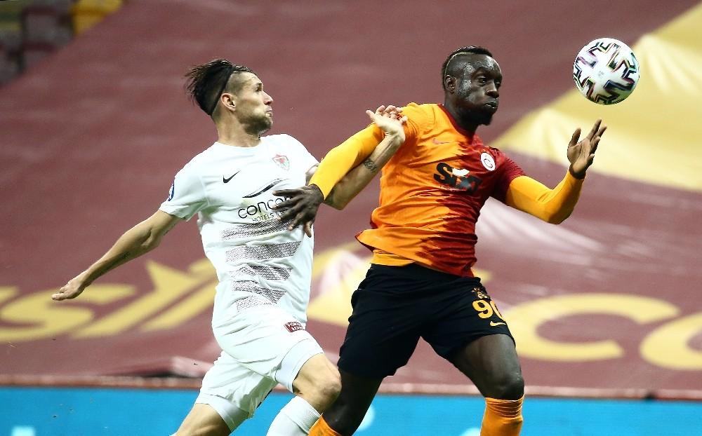 Galatasaray: 1 – Hatayspor: 0 (İlk yarı)