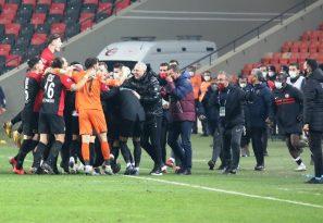 Gaziantep FK: 3 – Fenerbahçe: 1 (Maç Sonucu)