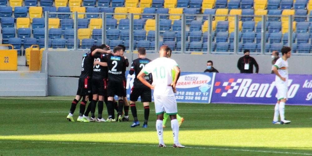 Süper Lig: Gençlerbirliği: 1 – Aytemiz Alanyaspor: 0 (İlk yarı)