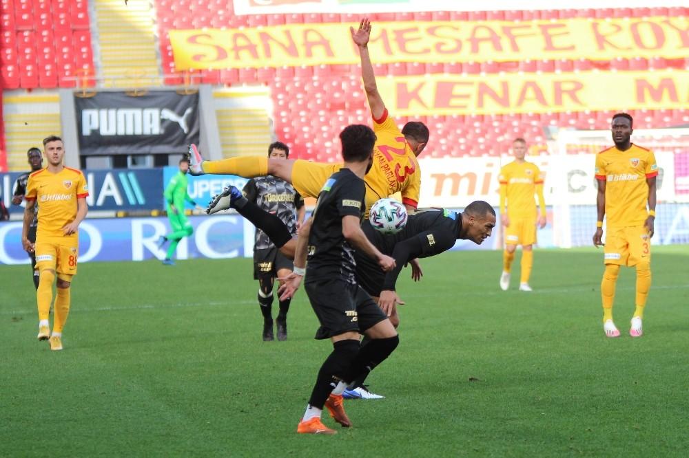 Süper Lig: Göztepe: 1 – Kayserispor: 1 (Maç sonucu)