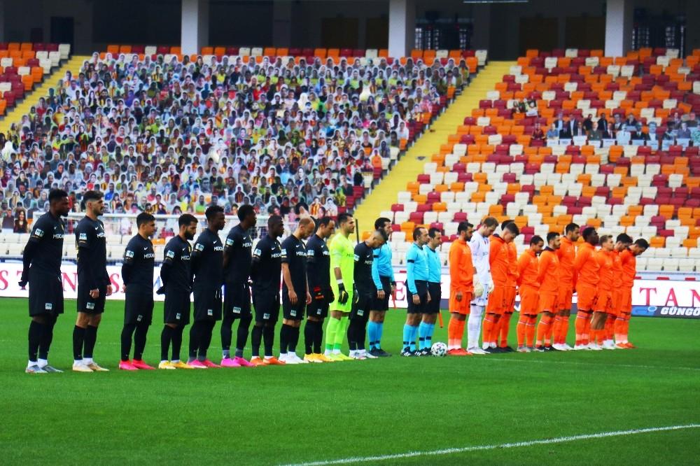 Süper Lig: Yeni Malatyaspor: 0 – M.Başakşehir: 1 (İlk yarı)