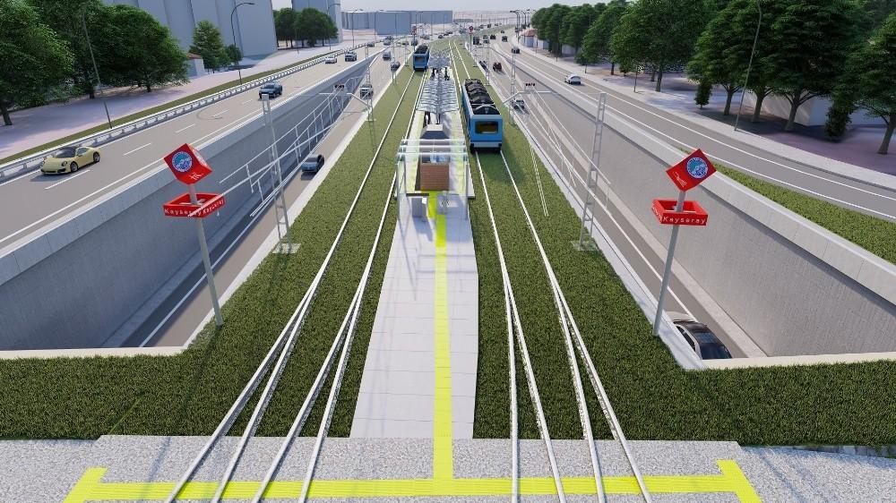 Talas – Anayurt Tramvay hattı ihalesi 30 Aralık'ta yapılacak