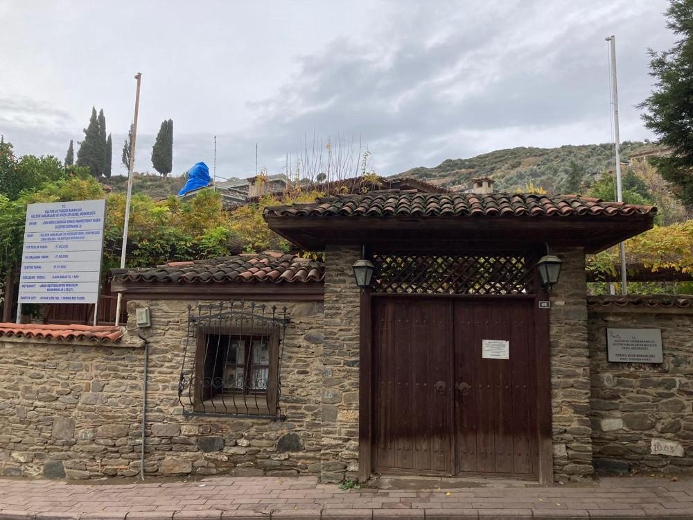Tarihi Çakırağa Konağı'nda Restorasyon