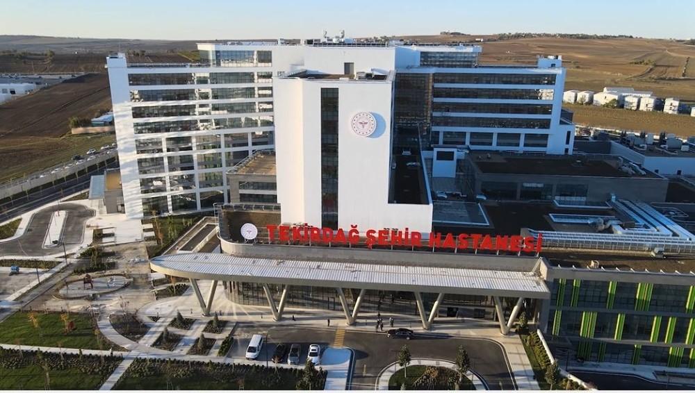 Tekirdağ Şehir Hastanesi hasta alımına başladı