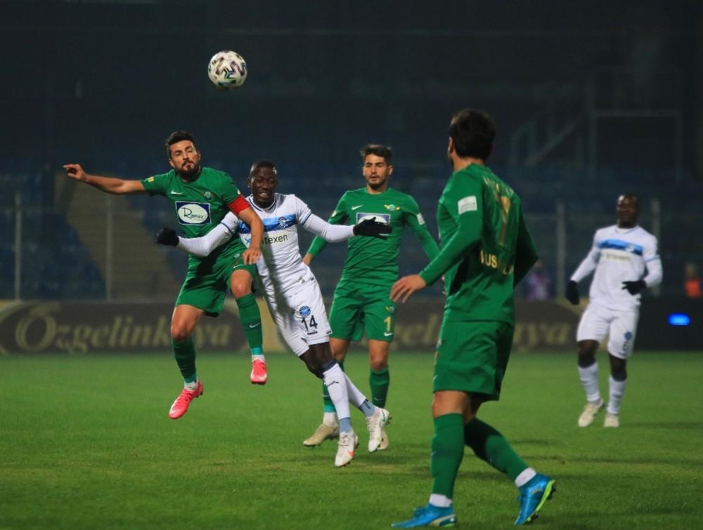 TFF 1. Lig: Adana Demirspor: 1 – Akhisarspor: 0 (İlk yarı)