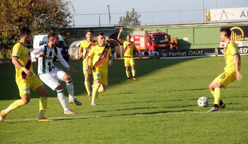 Giresunspor: 0 – Eskişehirspor: 0 (İlk yarı)
