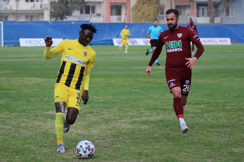 TFF 1. Lig: Menemenspor: 1 – RH Bandırmaspor: 1