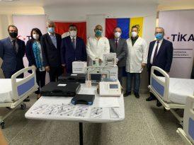 TİKA Venezuela'daki Hastanede Yanık Ünitesi Kurdu