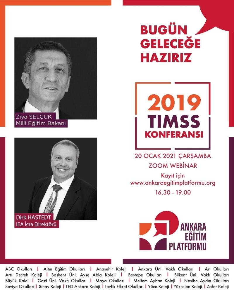 TIMSS 2019'un sonuçları konferansta değerlendirilecek