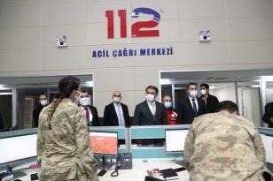 Tokat'ta 112 çağrı merkezi hizmete girdi