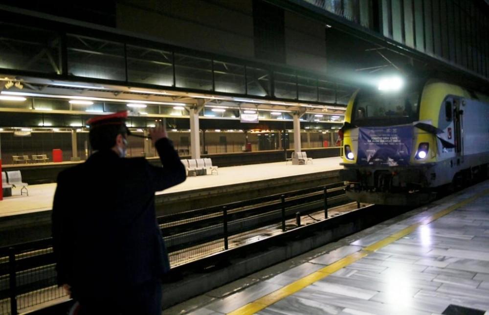 Türkiye'den Çin'e Giden İlk İhracat Treni Ankara'da