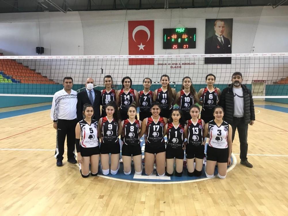 TVF 2. Lig: Elazığ Voleybol: 3 – Silopi Belediye: 0