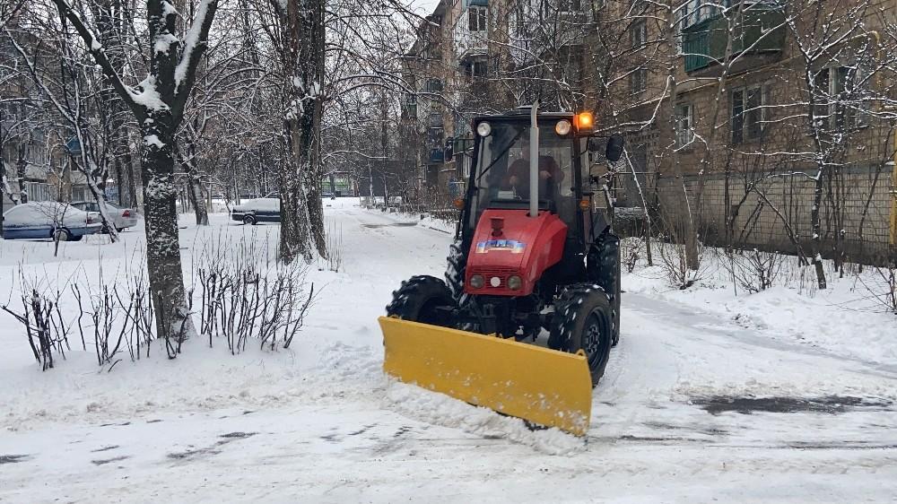 Ukrayna kötü hava koşullarına teslim oldu