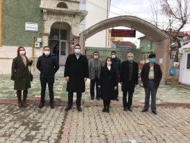 Vakıflar Bölge Müdürü Emek, Kara Mustafa Paşa Camii'nde incelemelerde bulundu