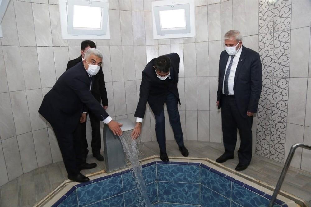 Kütahya Valisi Hisarcık'taki Yatırımları Yerinde İnceledi