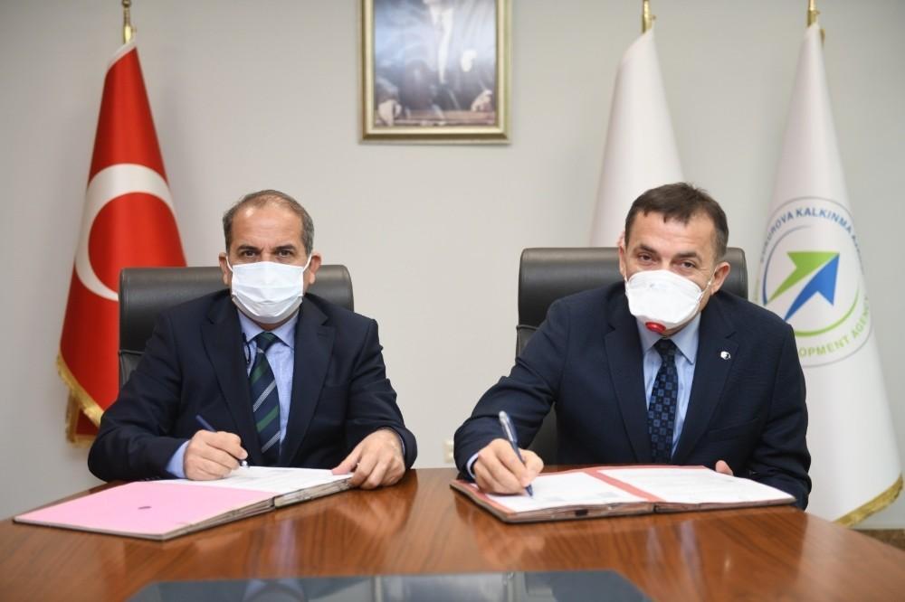 Yenişehir Belediyesinin iki çevre projesine ÇKA'dan destek
