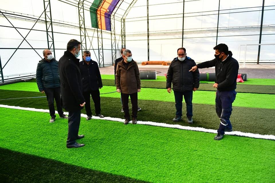 Yeşilyurt'ta spor projesiyle Yeşiltepe'nin cazibesini arttırılacak