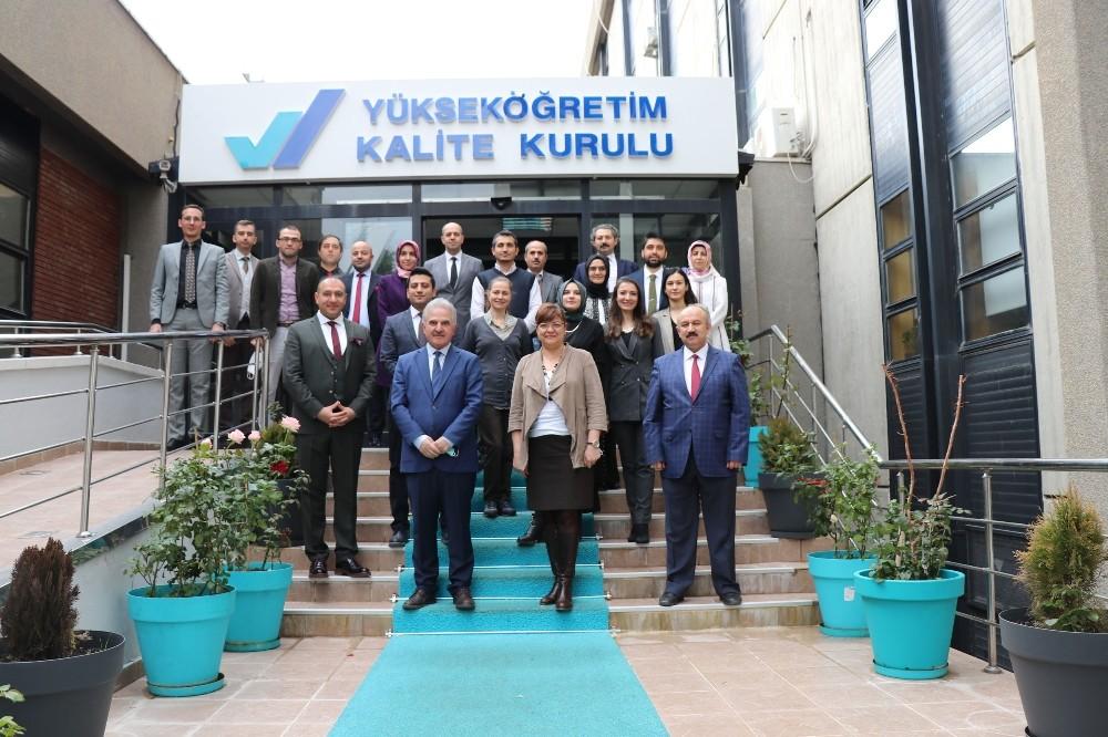 Yükseköğretim Kalite Kurulu 5. Yılında Uluslararası Yükseköğretimde Kalite Güvencesi Webinar'ı düzenledi