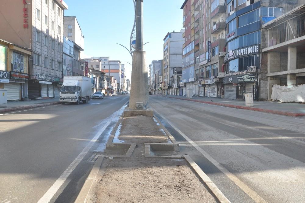 Yüksekova'da kısıtlama sessizliği