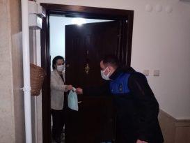 Zabıta Vefa Destek'ten gelen 617 talebi karşıladı