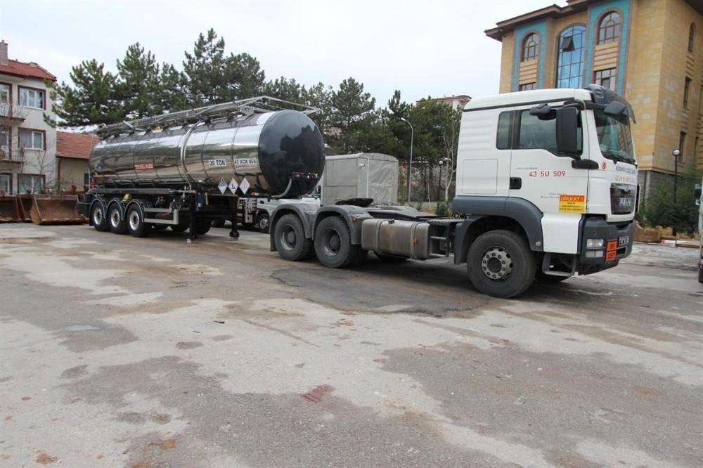 30 bin litre kapasiteli taşıma tankı