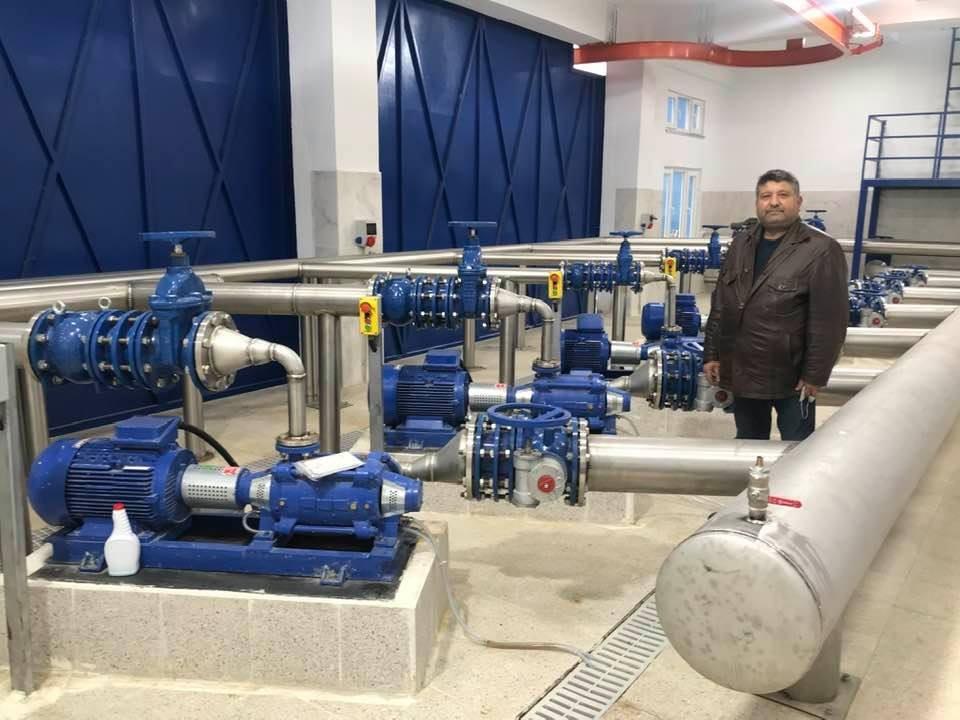 50 yıllık su sorununu Büyükşehir çözdü