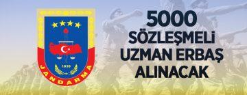Jandarma ve Sahil Güvenlik Akademisi 5.000 Sözleşmeli Uzman Erbaş alacak