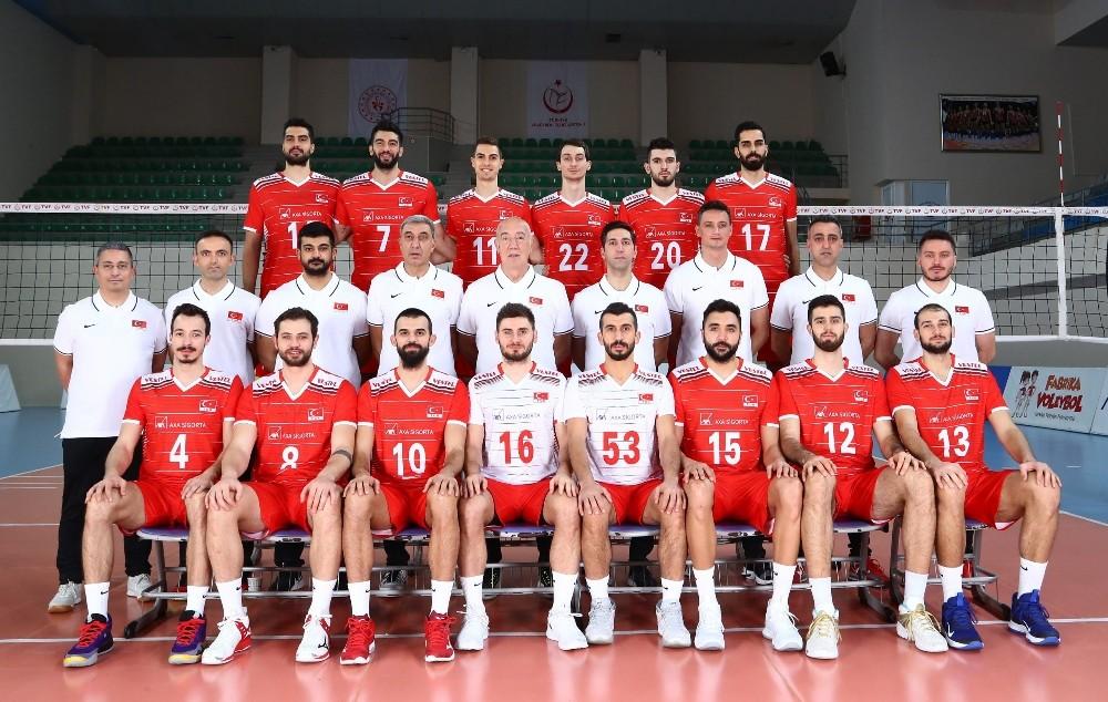 A Milli Erkek Voleybol Takımı, Avrupa Şampiyonası Elemeleri'nde sahne alıyor