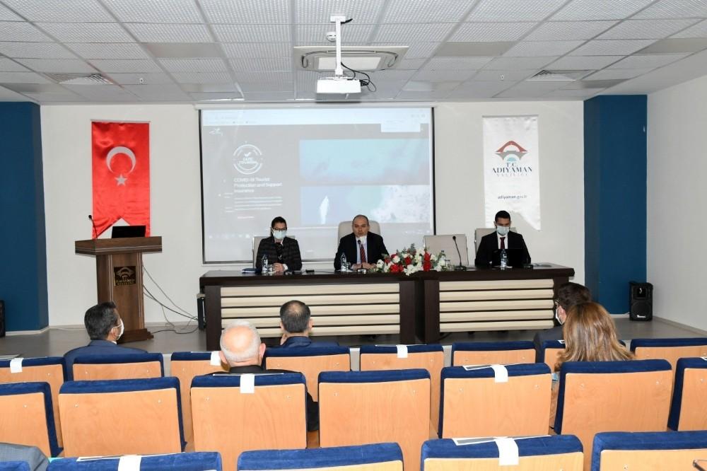 Adıyaman'da turizm destinasyon toplantısı yapıldı
