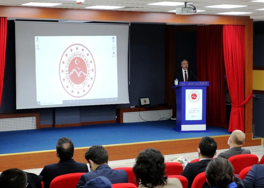 AİÇÜ Rektörü Karabulut, Ağrı Turizm Tanıtım Paydaşları Ortak Akıl Toplantısı'na katıldı