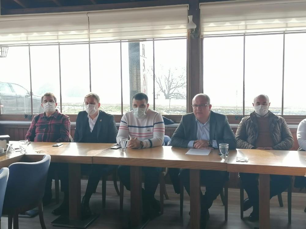 Ak Parti Çan İlçe Başkanı Şahin, ilçe yatırımlarını değerlendirdi