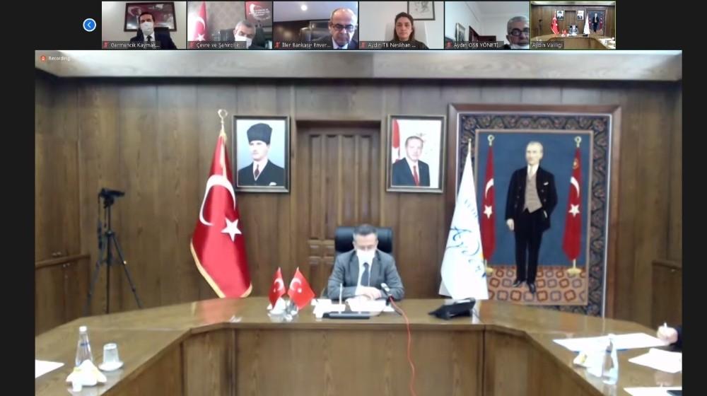Aydın Ticaret Borsası, Aydın İl Koordinasyon Kurulu Toplantısı'na katıldı
