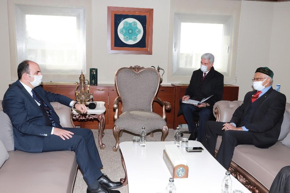 Bangladeş Büyükelçisi'nden Başkan Altay'a ziyaret