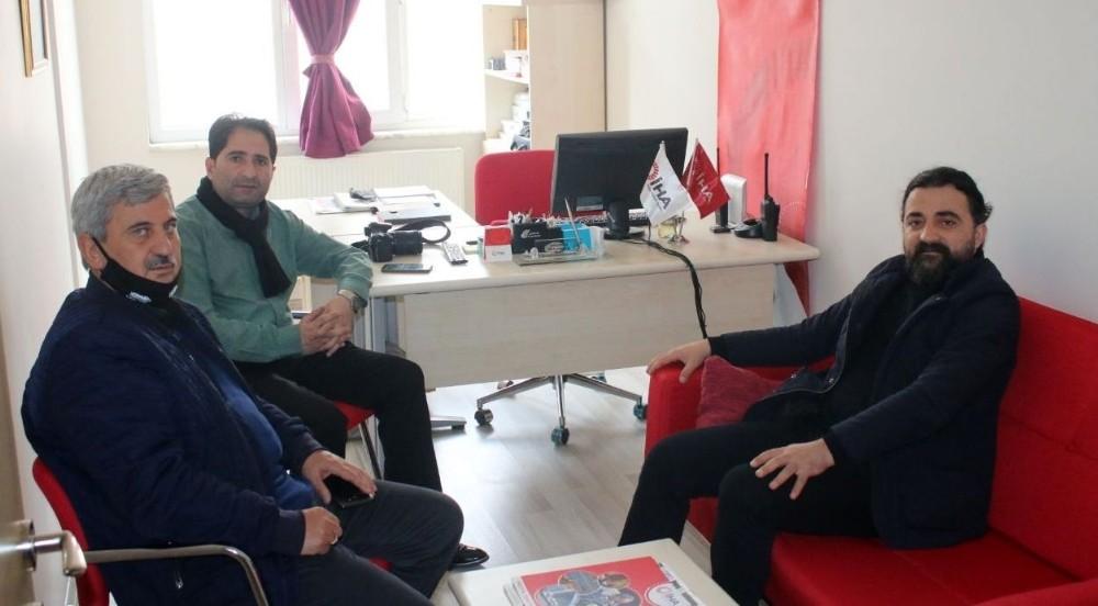 Baro Başkanı Aktürk'ten İHA'ya ziyaret