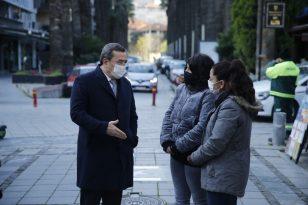 Başkan Batur, Sevgi Yolu esnafını dinledi