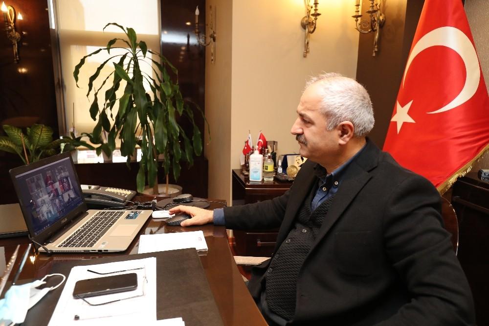 Başkan Büyükgöz Bakan Dönmez'in düzenlediği toplantıya katıldı