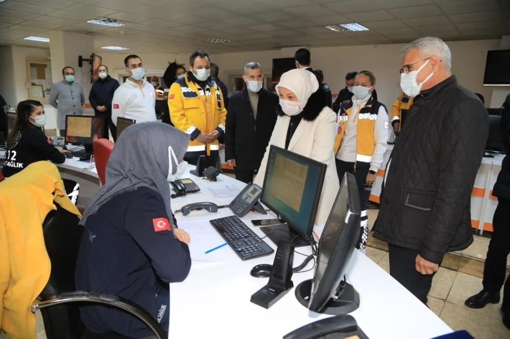 Başkan Güder, yeni yıla sahada çalışanlarla birlikte girdi