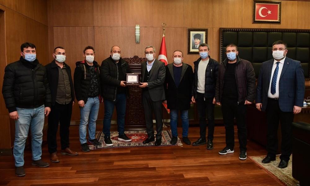 """Başkan Güngör: """"Kahramanmaraşspor'a destek vermeyi sürdüreceğiz"""""""
