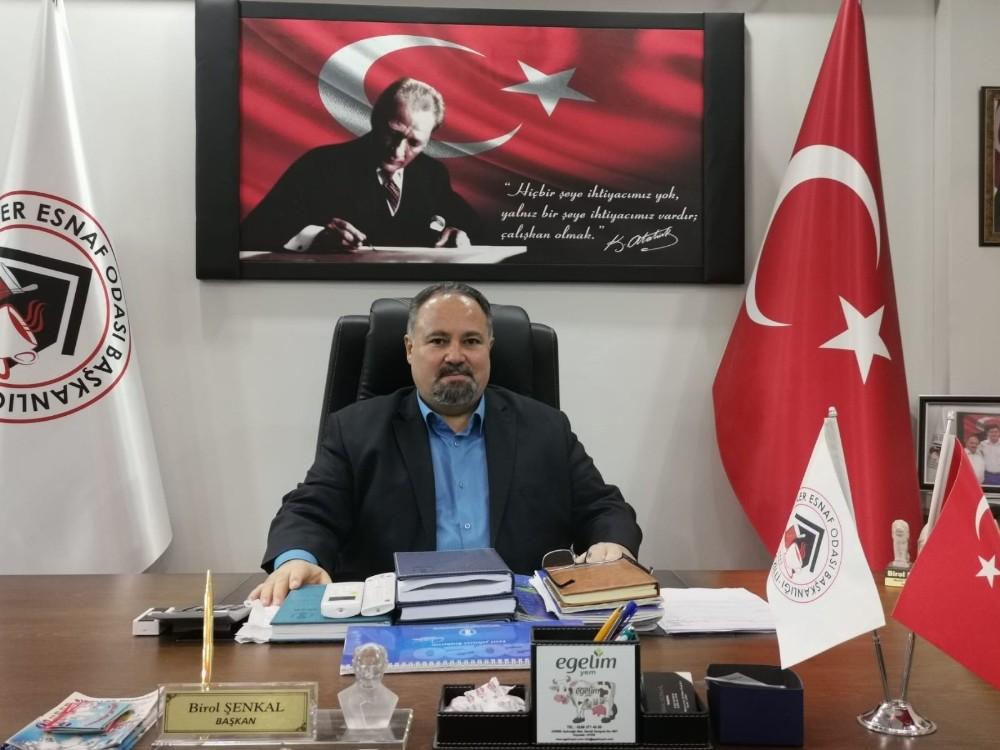Başkan Şenkal'dan Başkan Çerçioğlu'na Teşekkür